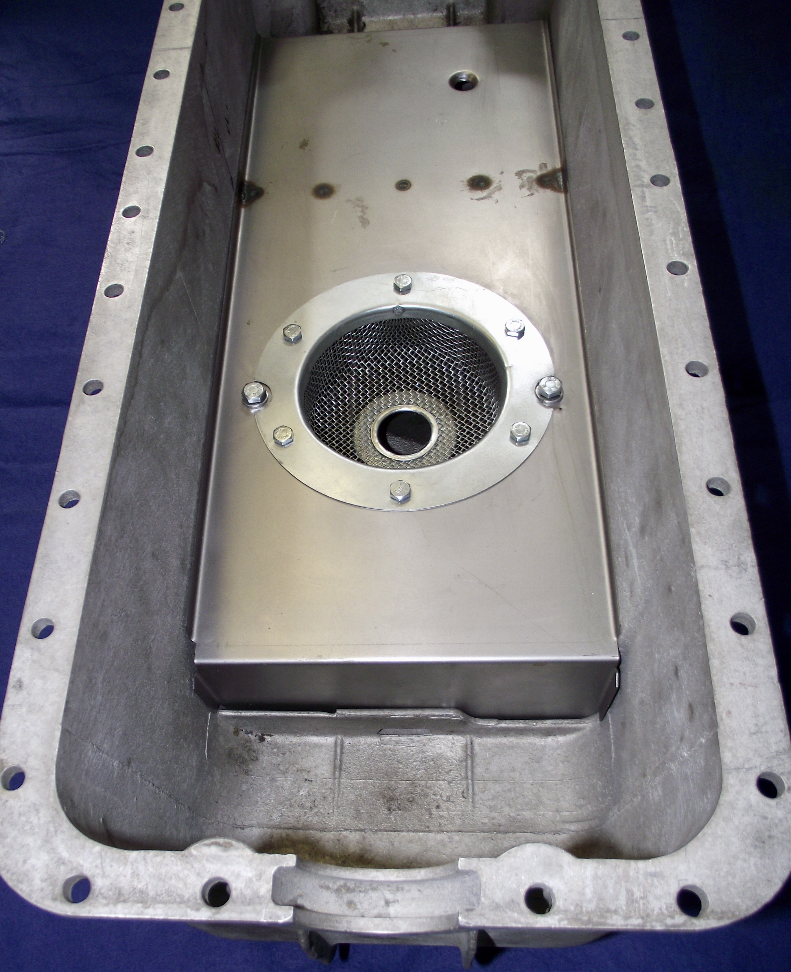 XK120 Baffle Upgrade...Click here to enlarge