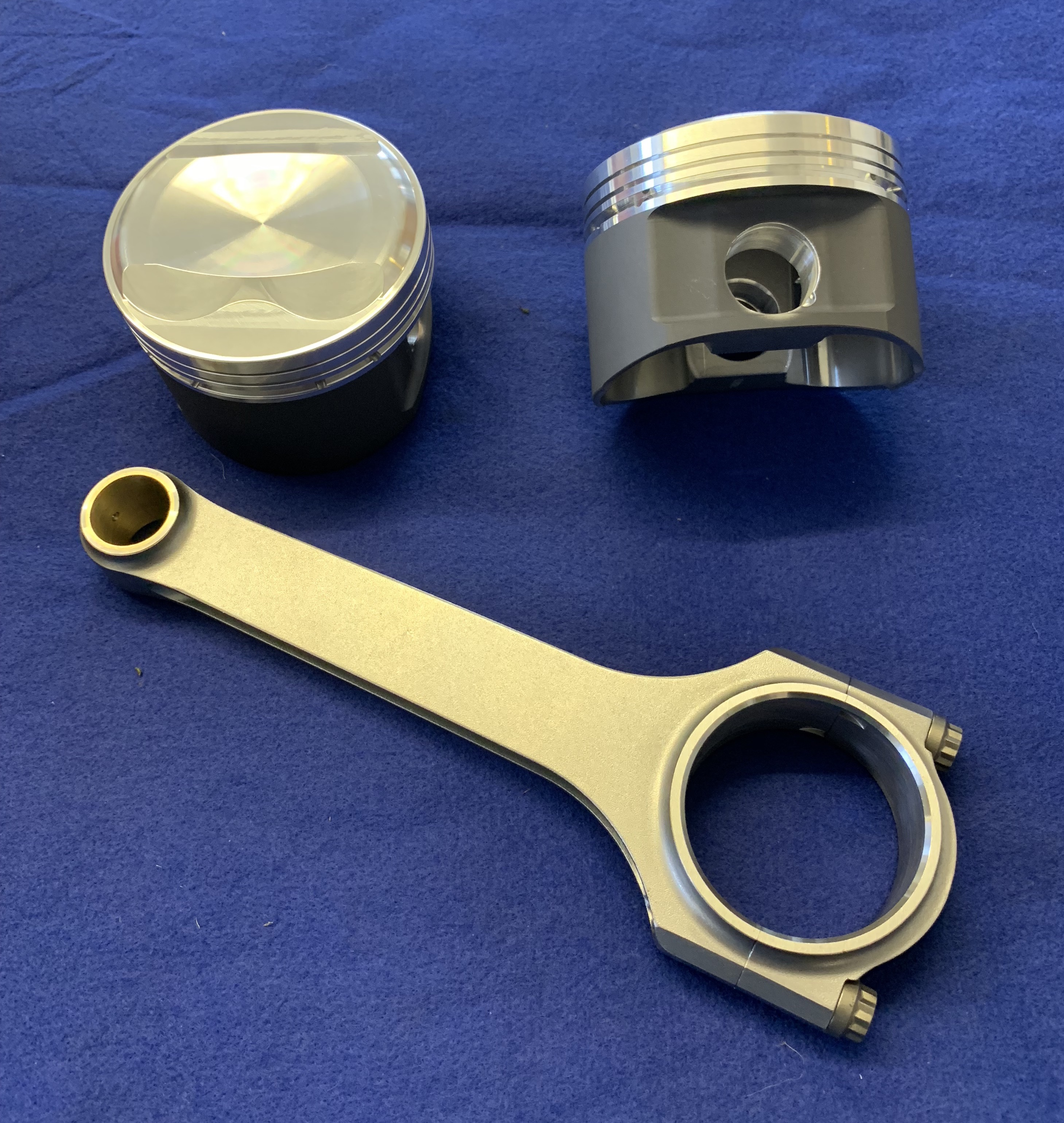High Compression Forged Pistons - Click here to enlarge
