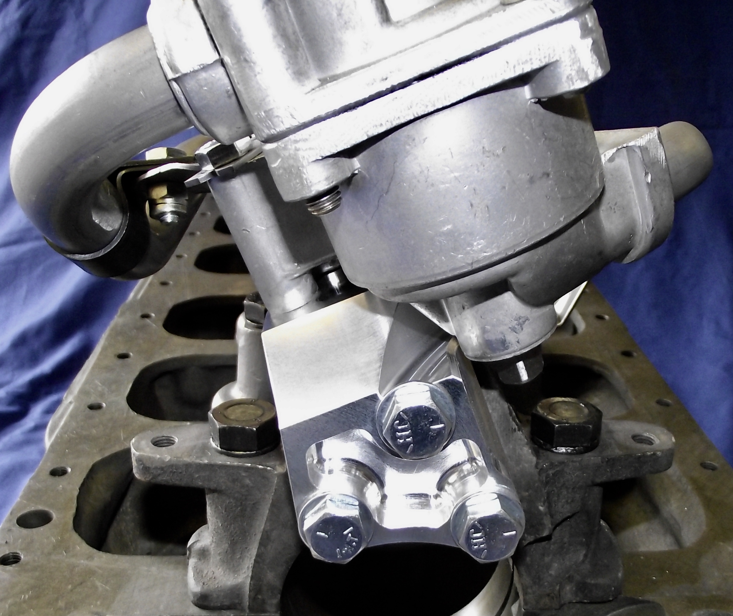 Oil Pump Conversion Bracket...Click here to enlarge